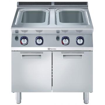 Massey Catering - 700XP Freestanding Gas Pasta Cooker, 2 Wells