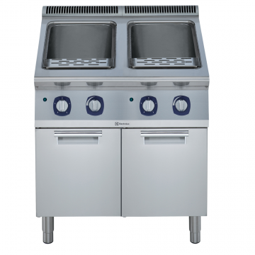 Massey Catering - 900XP Electric Pasta Cooker, 2 Wells
