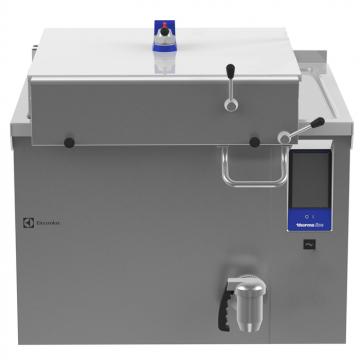 Massey Catering - Electric pressure boiling pan 200lt, rectangular, backsplash