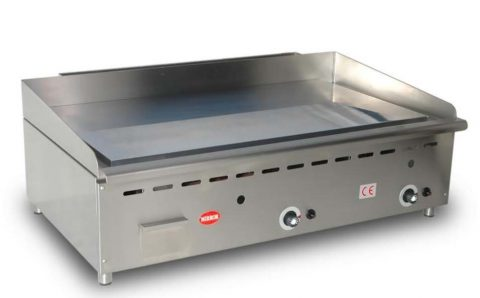 Massey Catering - Mirror G3 Gas Chrome griddle – smooth plate