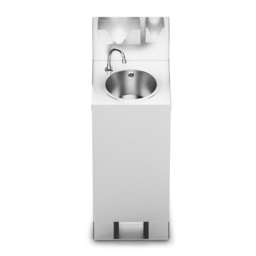 Massey Catering - IMC Mobile Hand Wash Station with Splashback, Soap & Paper Towel Holder
