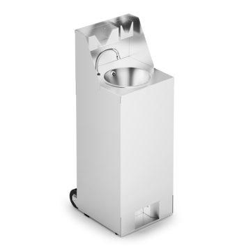 Massey Catering - IMC Mobile Hand Wash Station with Splashback, Soap & Paper Towel Holder